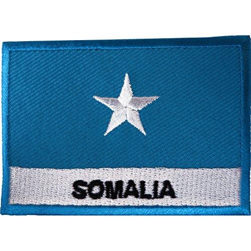 Somalia-Flagge, Aufnäher, bestickt, zum Aufbügeln oder Aufnähen, Stoff