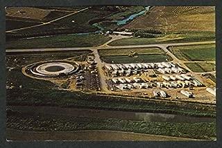 Pondarosa Trailer Court & Campsite Saskatchewan Canada postcard 1960s