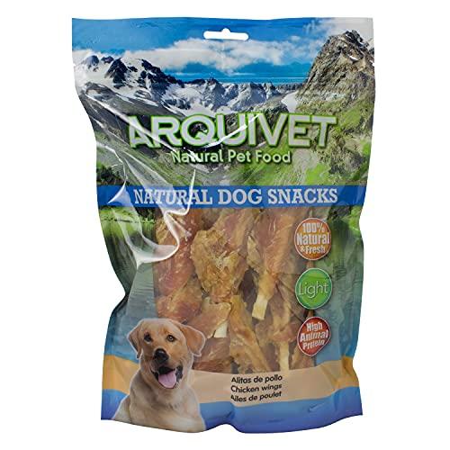 Arquivet Alitas de Pollo - 1kg - Natural Dog Snacks - Snacks Perros - 100% Natural - chuches Perros - premios Perros - golosinas Perros - Snacks Naturales - Producto Light