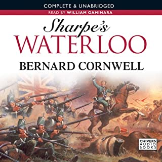 Sharpe's Waterloo cover art