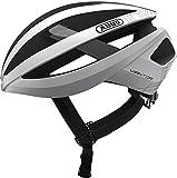 ABUS Viantor - Casco de bicicleta, Unisex , Blanco (Polar white), M (52-58 cm)