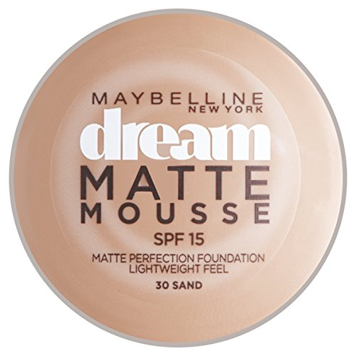 Maybelline Dream Mat Mousse Fond de Teint SPF15 30 Sand 18 ml