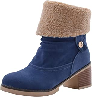 Melady Women Casual Winter Shoes Slouch Boots Pull On