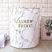 洗濯かご背の高い頑丈な、防水Peコーティング汚れた服ハンパーは洗濯ハンパーを格納しやすい、折りたたみ可能なファインワークマンシップ耐久防水と保湿、ベッドルームに適しています D