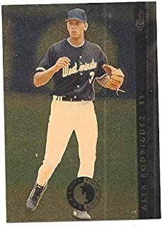 ALEX RODRIGUEZ 1993-94 Classic Images Four Sport Sudden Impact #SI4 Rookie Card RC New York Yankees Westminster Baseball