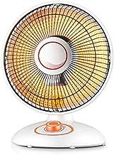 CSDY-Mini Calefacción De Tubo De Halógeno para Ahorro De Energía En El Hogar Pequeña Estufa De Calentamiento De Velocidad Ventilador Eléctrico Y Corte De Seguridad Térmica para Oficina 600W,Upgrade
