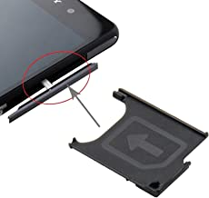 Cell Phone Professional Spare Parts Micro SIM Card Tray Compatible With Sony Xperia Z2 / L50w Deluxe