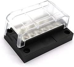 Fuse Box Blade Fuse Block Holder Screw 12P Modular Negative Bus Bar Fuse Block Holder Screw Fuse Box Block Holder