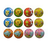 MyMagic 12 Pcs 2.5' Of Foam PU Cartoon animal Stress Balls,Squeeze Ball Sponge Ball,Stress Relief Balls, Hand Finger Wrist Exercise Toy Party, Favors for Anxiety Adults(Pattern Random)