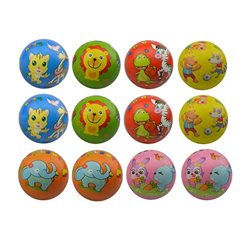 MyMagic 24 Pieces of Foam PU Happy Smiley Face Stress Balls,Stress Relief Balls, Fun Party Balls (Smiley Face)