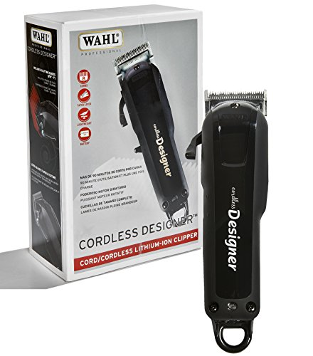 Wahl Professional Cordless Designer Clipper #8591 – 90 Minute Run Time –...