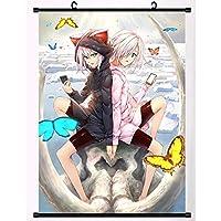 アニメダーウィンズゲームスクロールポスターハンギングペインティング家の装飾壁アートファンがギフトを集める 19.7x29.5inch/50x75cm