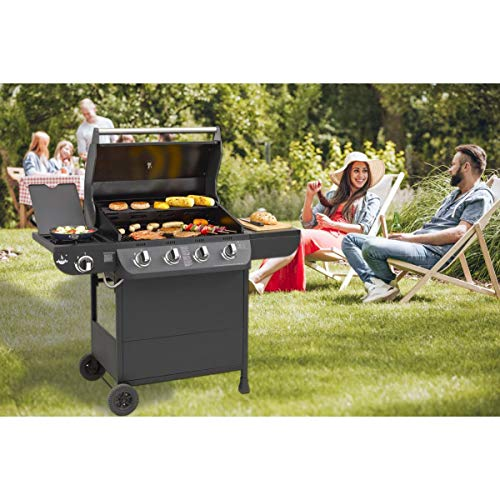 Gasgrill Columbus 4+1 Brenner von EL Fuego® Grill BBQ Grillwagen Gasgrillwagen Barbecue AY 563