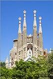Poster 40 x 60 cm: La Sagrada Familia Kirche in Barcelona