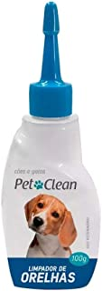 Limpador de orelhas para cães e gatos 100 ML Pet Clean
