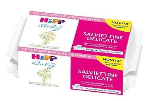 Hipp Baby Salviettine Delicate Pacco Doppio - 6 Pacchi da x 2 pezzi