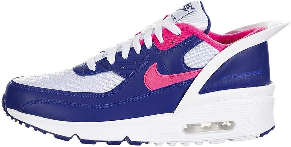 Nike Air Max 90 Flyease Running Casual Shoes (gs) Big Kids Cv0526-101
