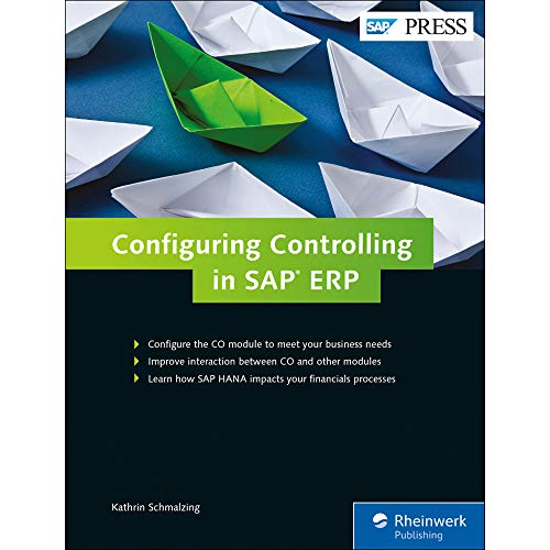 Configuring Controlling in SAP ERP (SAP PRESS: englisch)