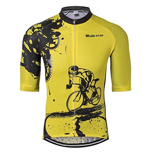 Cycle Jersey Men Bike Jersey Clothing Bicycle top Men MTB Jersey Racing Sport T-Shirts M