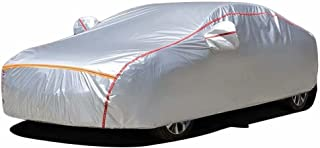 Custom Made Car Cover Fits Mazda MX-30-Silver Waterproof Rain Dust Sun Uv All Weather Protection with Cotton Zipper for Au...