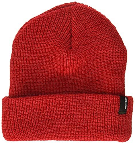 Brixton Men's Heist Beanie Hat, Red 13, One Size