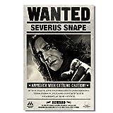 Lomoko Severus Snape Vintage Poster Malen Leinwand