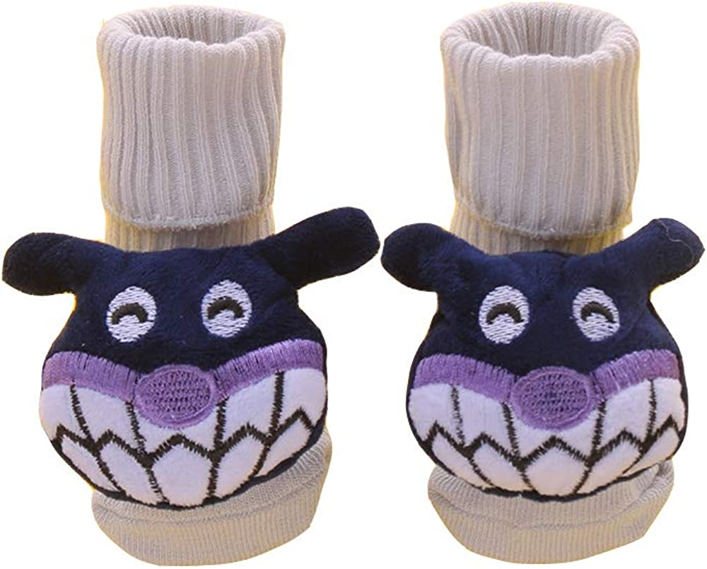 Cartoon baby socks, baby cotton socks, doll socks, stereo socks