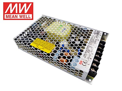 Fuente de alimentacion 150W 24V 6.5A Mean Well Enclosed LRS-150-24 Power Supply AC/DC