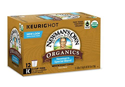 Newman's Own Organics Special Blend Medium Roast Coffee K-Cup, 12 ct