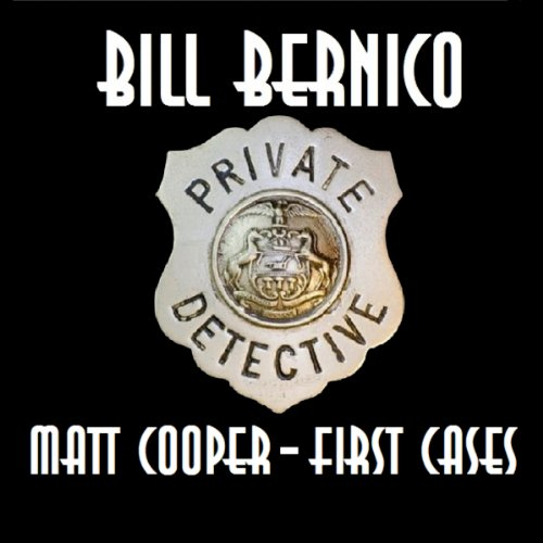Matt Cooper - First Cases audiobook cover art