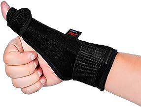 MAYCREATE® Thumb Splint Trigger Finger Support Wrist Brace Strap for Carpal Tunnel Arthritis Tendonitis Sprain Strain -Right Hand 1pc
