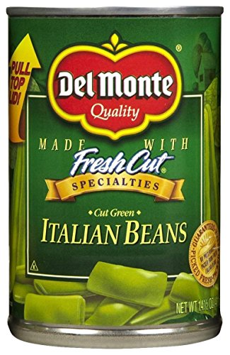 Del Monte Fresh Cut Cut Green Italian Beans - 14.5 oz - 12 pk