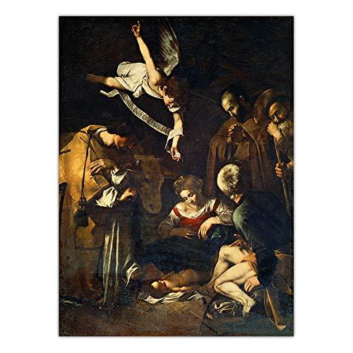 (30x40cm) Geen Frame Wall art printsItaliaanse Michelangelo Merisi da CaravaggioKamerdecoratie met canvas schilderijen voor kinderen en volwassenen