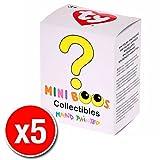 TY Beanie Boos - Mini Boo Figures - Blind Box (5 Packs Supplied)