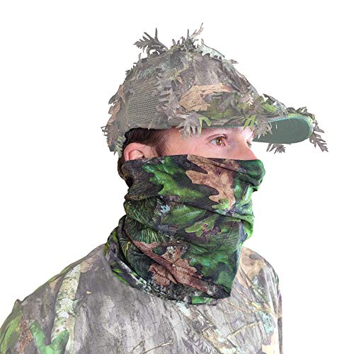 QuikCamo Camo Face Mask (NWTF Mossy Oak Obsession)