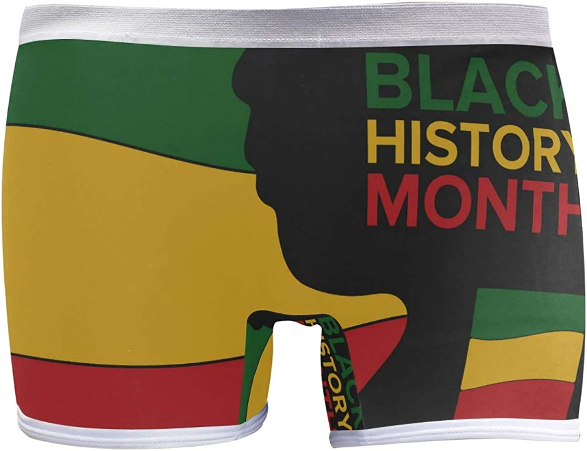 Max 71% OFF SLHFPX Womens Popular shop is the lowest price challenge Underwear Boxer Briefs American La History African