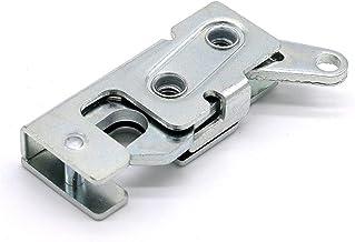 Praktisch Rotary Klinken deurpaneel Metal Verborgen Draaigrendel Impact sluiten Lock Slam Lock Klink