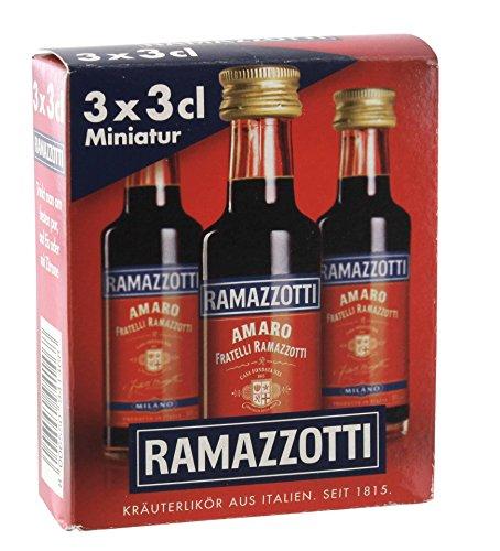 Ramazzotti 3x0,03 ltr. 30% vol.