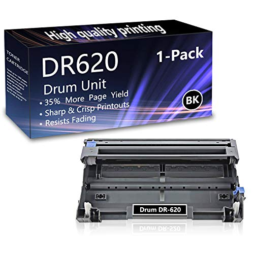 1 Pack (Black) DR620 Drum Unit Replacement for Brother HL-5240 5250DN 5270DN 5370DW 5380DN 5280DW MFC-8370 8460N 8690DN 8480DN 8680DN 8690DN 8890DW DCP-8060 8080DN 8085DN 8085DN Printers.