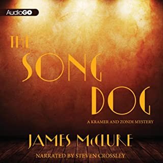 The Song Dog audiobook cover art