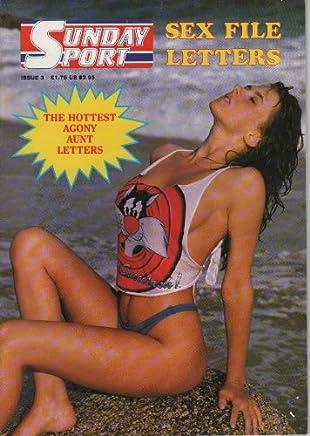 Sunday Sport magazine Sex File Letters issue 3 Sian Adey Jones Centrefold