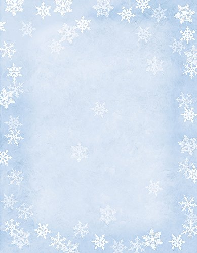 Great Papers! Winter Flakes Decorative Paper, 11 x 8.5 inches, 80-Pack Sheets (2014080)