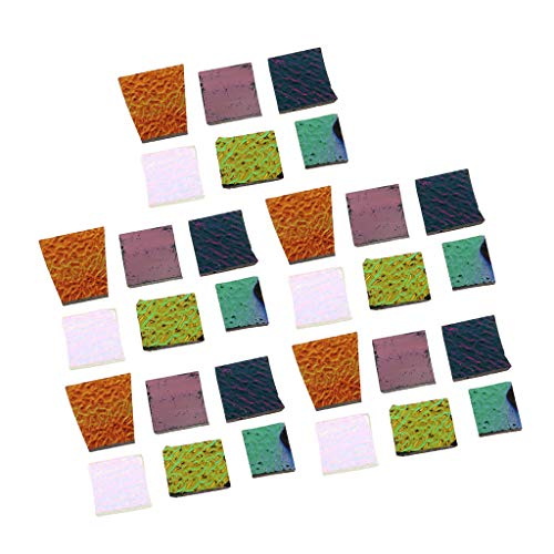freneci 5 Oz De Vidrio Dicroico Multicolor Vidrio Fusible Horno Microondas Chatarra Joyero