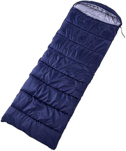 ZAQXSW Sac de Couchage en Hiver pour Adultes en Camping, Fournitures de Camping en Plein air Peuvent être Cousus Sac de Couchage en Molleton Double