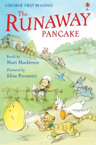 The Runaway Pancake: For tablet devices (Usborne First Reading: Level Four)  eBook: Mackinnon, Mairi, Provantini, Silvia: Amazon.co.uk: Kindle Store