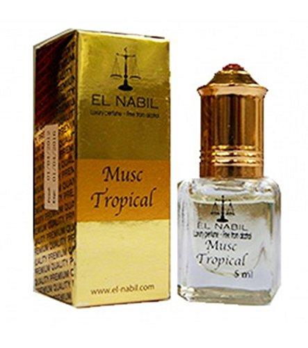 Business Square EL NABIL 5ml Musc Tropical 100% huile