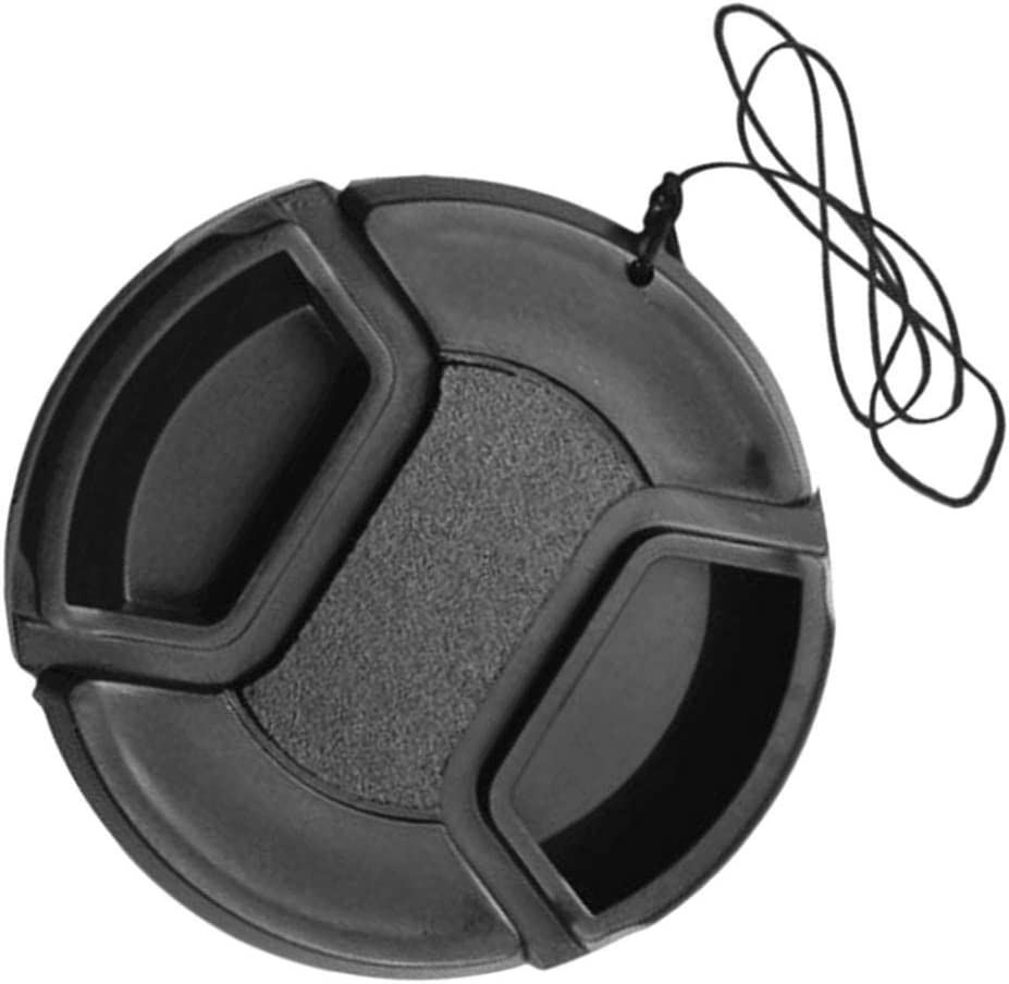 Ranking TOP8 Kesoto 49-77mm Camera Lens Cap Cover for - Front Black Universal Finally popular brand