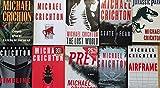 Michael Crichton Thriller Hardcover Collection 14 Book Set