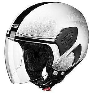 Studds Open Face Helmets For Women In White Color (S - 54 cm, Tinted Visor)