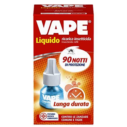 Vape Ricarica Liquida Lunga Durata, Protegge dalle Zanzare a Lungo, 90 Notti